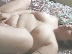 Fat arab girl gets ass fucked by husbands friend