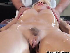 Hush-hush massage time for Anikka Albrite
